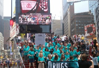 Times Square, New York: Foundation for a Drug-Free World