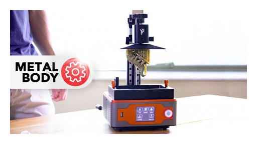 Panda 3D Announces the Kickstarter Launch of Paladin 3D - a Revolutionary New SLA 3D Printer for Consumers
