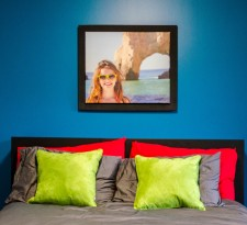 Canvas print in frame by Frames4Canvas