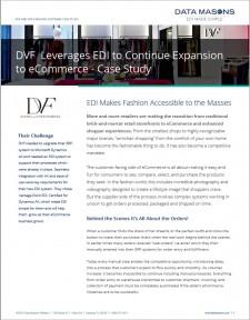 Diane von Furstenberg EDI Case Study