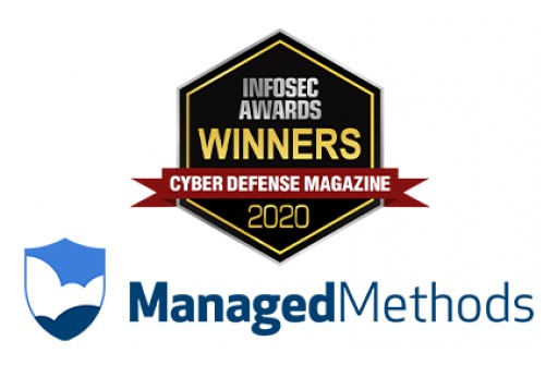 ManagedMethods Named SaaS Cloud Security Product Winner in 2020 InfoSec Awards