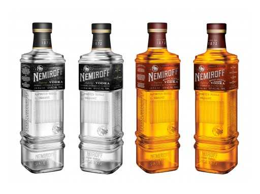 Celebrate National Vodka Day With Nemiroff Vodka, Ukraine's #1 Selling Vodka