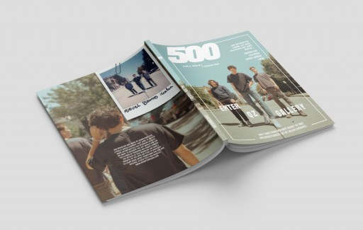 Downtown 500 Releases First Issue of '500 Magazine'