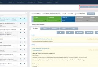 Solastis CRM Sequential Project Management