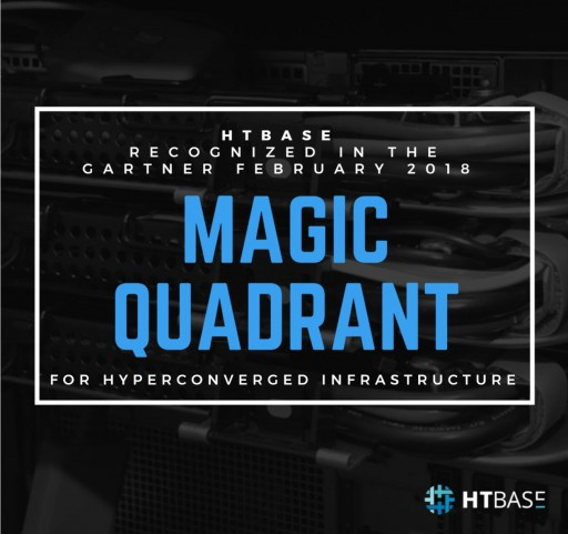 HTBASE is the Youngest Company to Appear on This Years Magic Quadrant for Hyperconverged Infrastructure