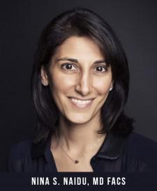 Nina S. Naidu, MD, FACS - Board-Certified Plastic Surgeon in New York City.