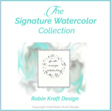 The Signature Watercolor Collection by Robin Kraft Design