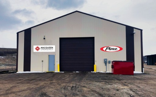 Pierce Fire Truck Dealer Opens New Service Facility in Minot, North Dakota