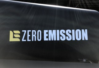 First high capacity zero emissions forklift
