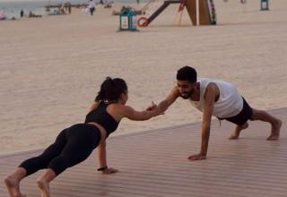 Workout in Dubai