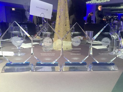 Voted on by Readers, Premier Traveler's Annual Awards Ceremony Crowned Air Canada With Four Prestigious Awards in 2015