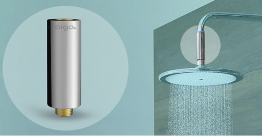 Aiga Brings IoT Technology to Your Shower & Reduces Your Water Usgae by Up to 60%