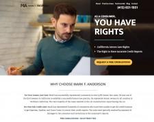 Attorney Mark F. Anderson's Website
