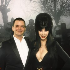 "Brian Evans & Elvira celebrate the release of ""Creature,"" the new Halloween song taking the holiday by storm"