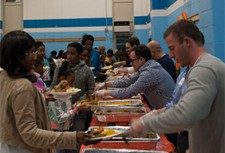 Volunteers at Bring Dinner Home Feed over 1,000 people in the Newark community!
