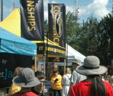 Scientology Volunteer Ministers at the Queen Anne Days Festival.