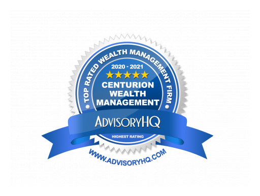Centurion Wealth Management Named a Top Wealth Management Firm by AdvisoryHQ