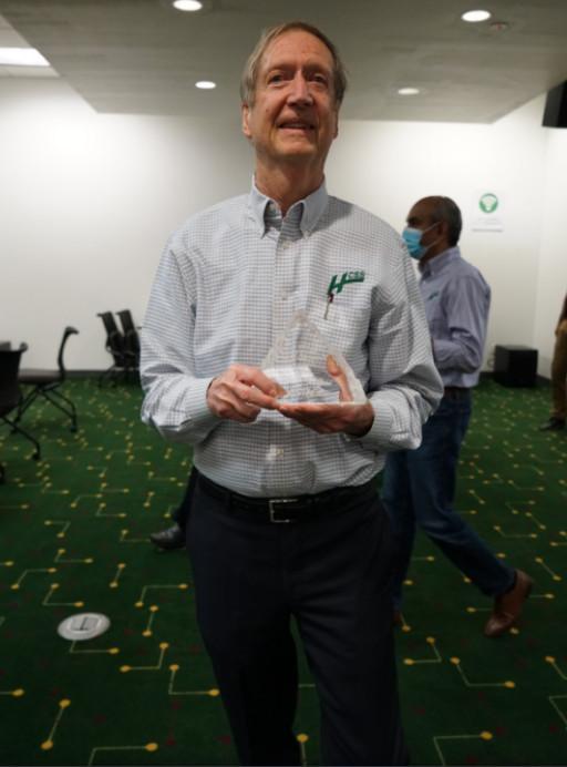 HCSS CEO Wins Vistage 2021 Lifetime Achievement Award