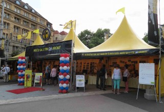 Scientology Volunteer Ministers Tent