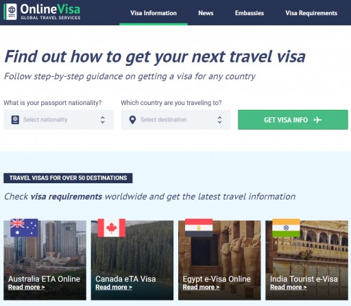 Everything Travelers Need to Know About Visas From Around the World at Onlinevisa.com
