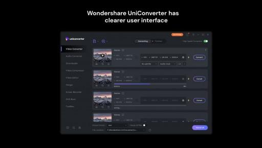 Wondershare Updates New UniConverter With Revolutionary Improvements