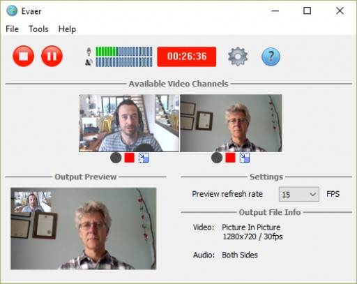 Evaer Skype Recorder Supports Skype HD Video Call Recording