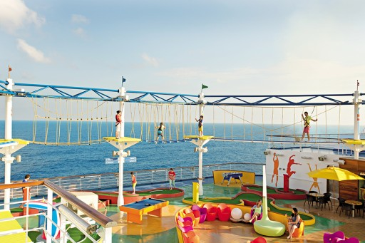 Sky Trail® Ropes Course Welcomed Aboard the Carnival Cruise Ship Horizon