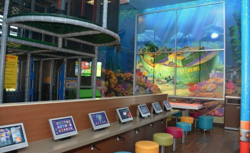 A Multi-Sensory Experience at McDonald's Play Place Under the Sea
