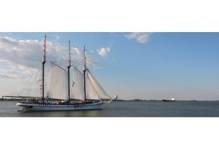 EMPIRE SANDY Coming to Tall Ships Erie
