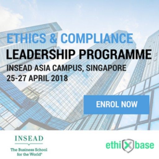 INSEAD and ethiXbase Announce Ethics & Compliance Leadership Programme