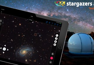 Stargazers App: touch the sky