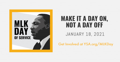 20,000+ Youth Will Make the MLK Day of Service 'A Day On, Not A Day Off'
