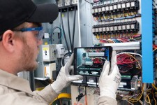 Lee Company technicians use XOi's platform in the field