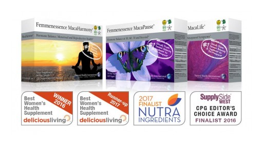 Femmenessence Supplement Line Earns Fourth Award Within a Year