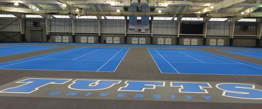 Tufts University Converts Mondo Track & Tennis Facility to Beynon
