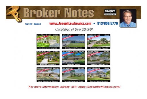 Joseph Lewkowicz Reveals the Latest Report in Real Estate With His Exclusive Newsletter