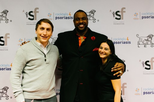 Retired NFL Player Teams Up for Cocktails4Psoriasis Fundraiser During Big Game Week in San Francisco