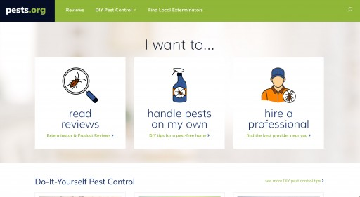 K2forma Launches the First Comprehensive Nationwide Pest Control Web Service for Consumers