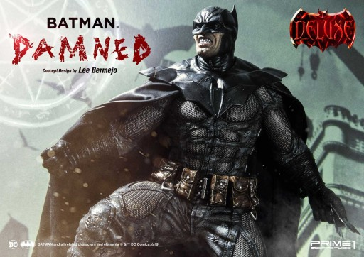 Prime 1 Studio is Presenting the 'Batman Damned' Statue, Designed by Incredibly Talented American Comics Artist - Lee Bermejo