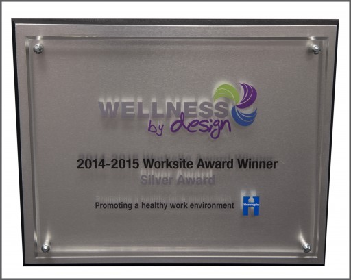 DriSteem Recognized for Excellence in Worksite Wellness by Hennepin County