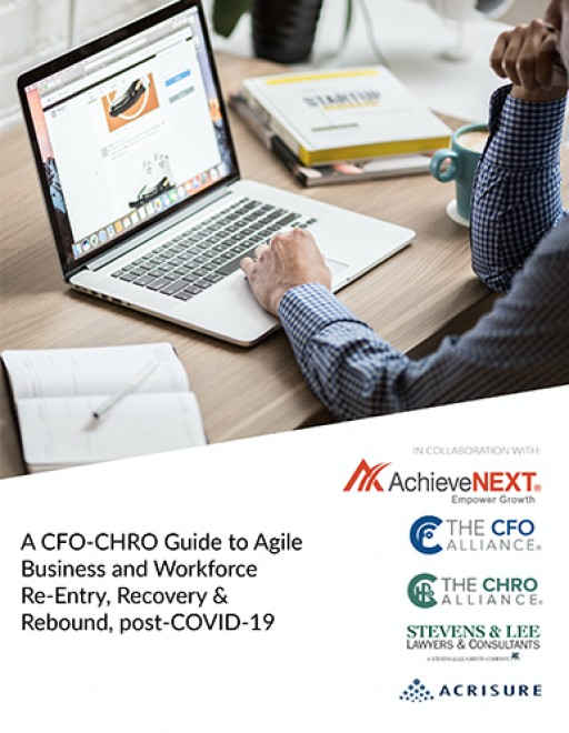 Twenty-One Leading Finance & HR Executives Collaborate to Release Special Task Force Report on Covid-19 Agile Business & Workforce Reentry