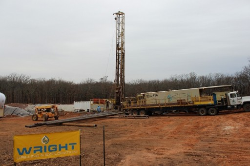 Wright Drilling & Exploration Drills Their Fifth Successful Oil Well Project in Oklahoma