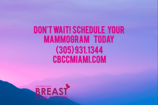 The Benefits of Mammograms, as Explained by the Center for Diagnostic Imaging