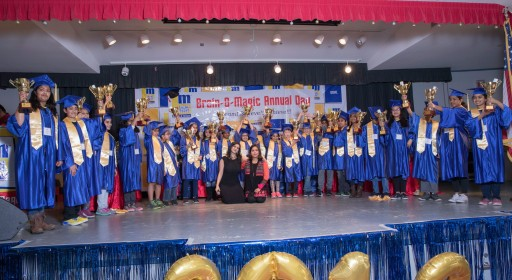 Brain-O-Magic Annual Day - Competition and Graduation Day Wows Bay Area Parents