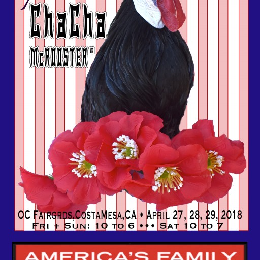 Chico McRooster Team to Join America's Family 2018 PET EXPO, April 27, 28 and 29, 2018
