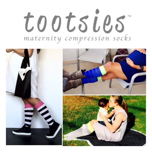 Introducing Tootsies® Maternity Compression Socks