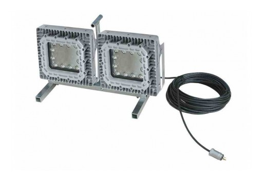 Larson Electronics Releases Explosion-Proof LED Light, Pedestal Stand, CID1, (2) 150W LEDs, Portable