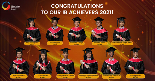 23 Students From Singapore-Based Global Indian International School (GIIS) Achieve IB Topper & Near Perfect Scores for 2021
