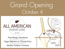 All American Outdoor Living Grand Opening October 4th 2019