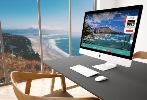 Vizergy Showcases Hawaiian Treasure, Queen Kapi'olani Hotel's Stunning Features With New Custom Website.